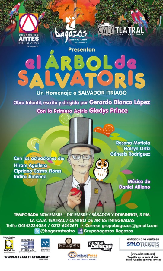 Pendón El Arbol de Salvatoris