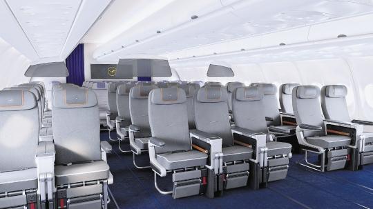 Lufthansa cabina Premium Economy general