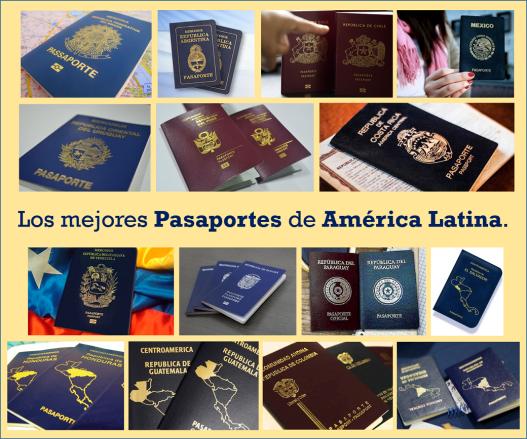 Mejores Pasapores de América Latina