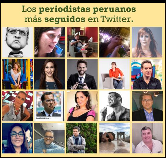 Los Periodistas Peruanos al 2 OCT 17
