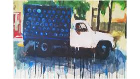 URBES. Rafael Arteaga, Camion de agua 1